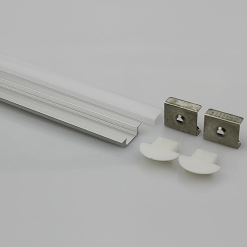 15.1x5.7x11.3mm Led Aluminum Profile